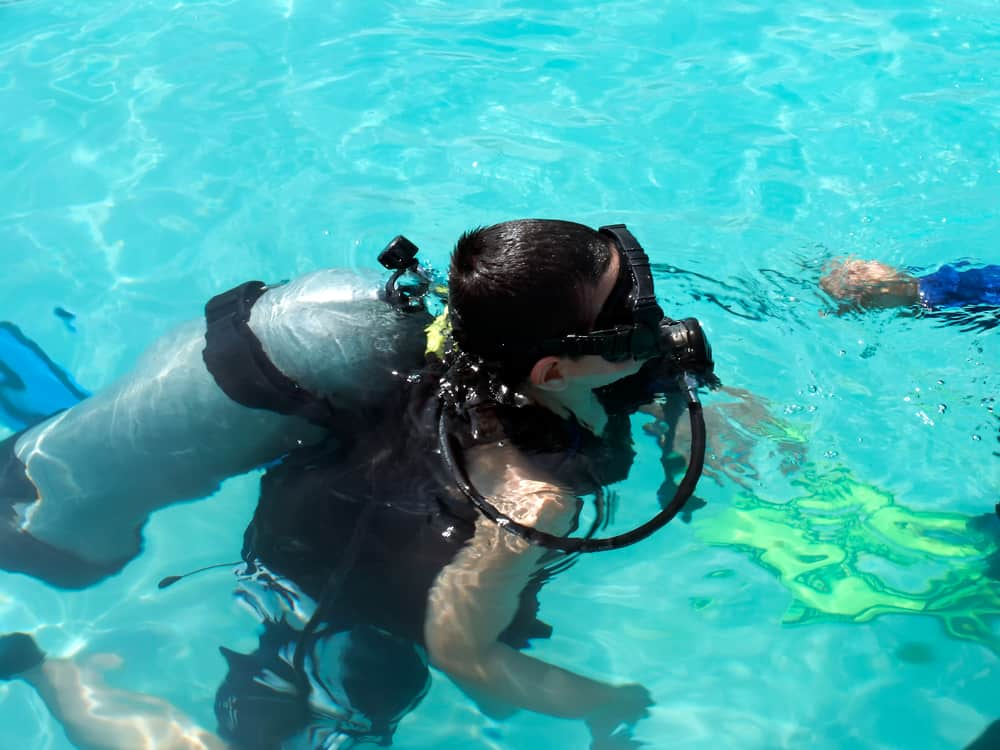 Using the right scuba gear for children - Masks, Fins and Wetsuits for the Junior