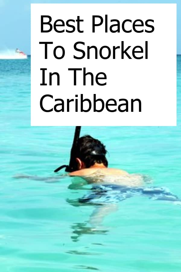 A snorkel vacation in the Caribbean sounds amazing. Where should you go? What are the best places?