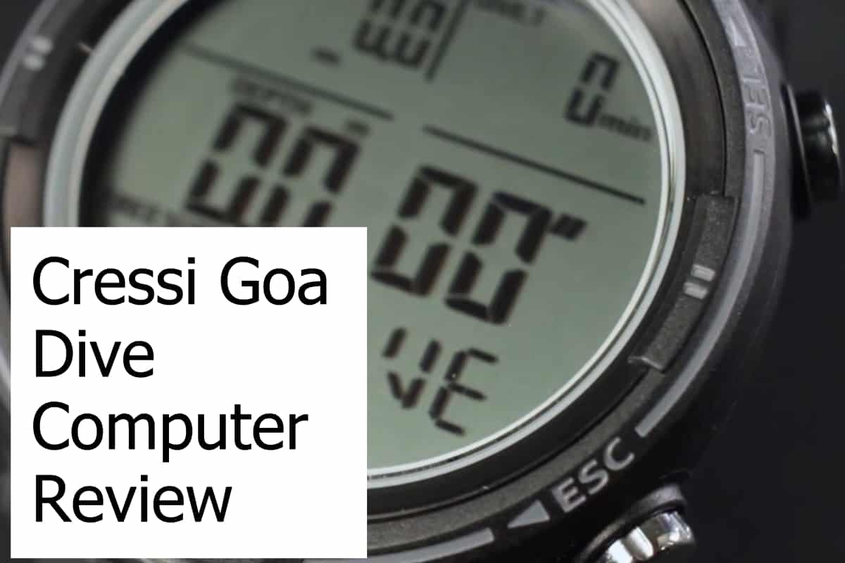 Review of the Goa Dive Computer from Cressi
