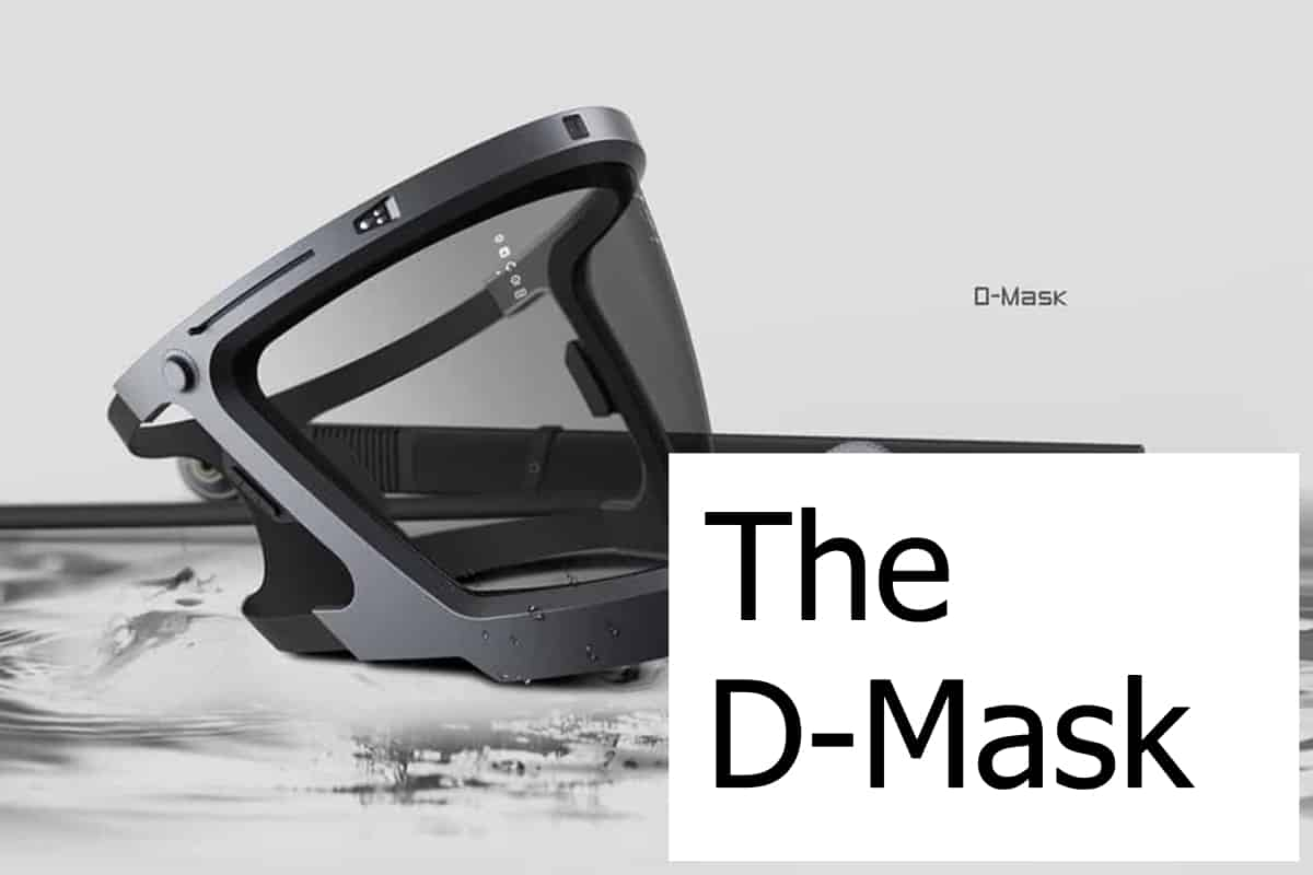 Is the D-Mask really the last dive or snorkel mask you'll ever need?