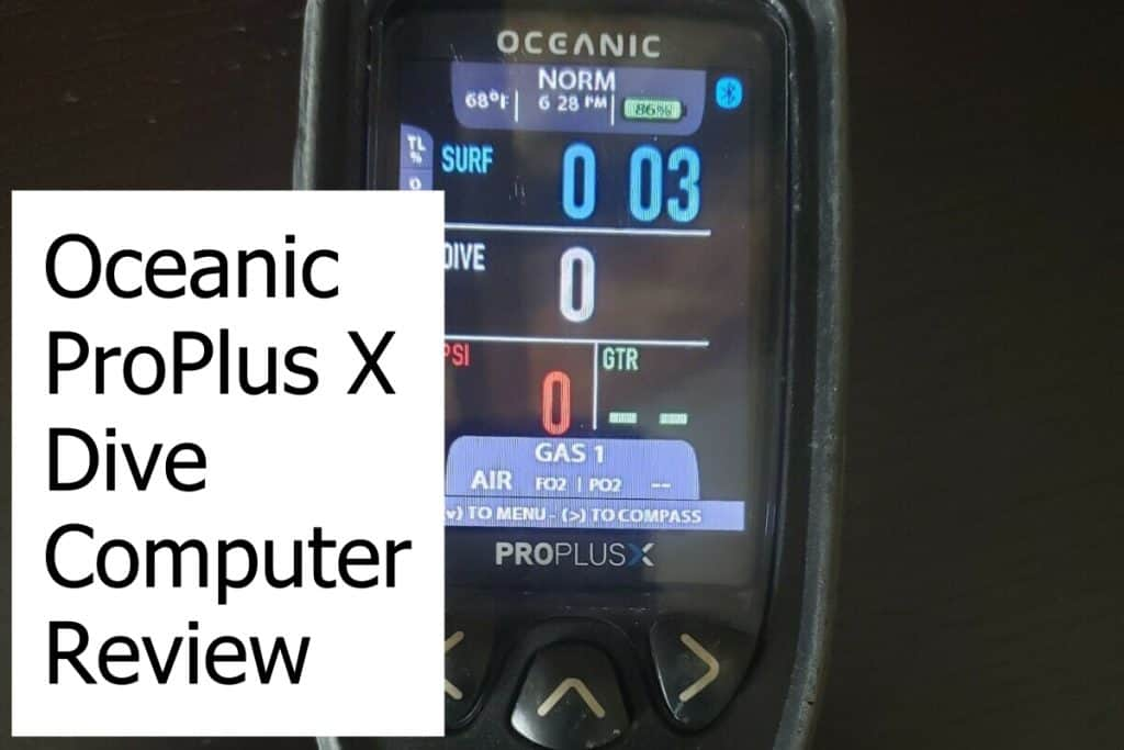 Review of the ProPlus X Scuba Diving Computer from Oceanic