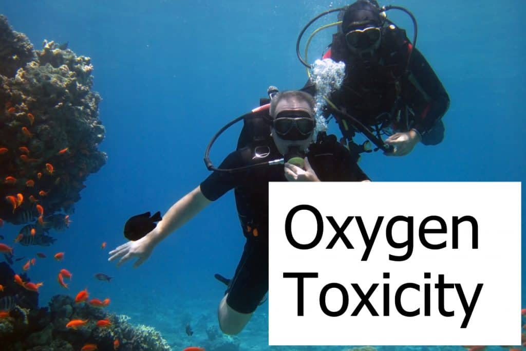 What does Oxygen Toxicity mean and how does it impact a diver?