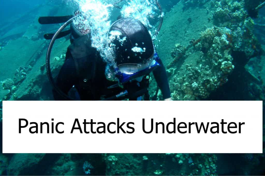 What can you do about panic attacks when diving? How can you prevent and handle them?