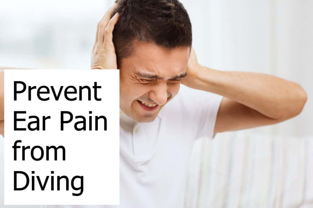 Ear pain is a problem many divers face - How do you prevent it?