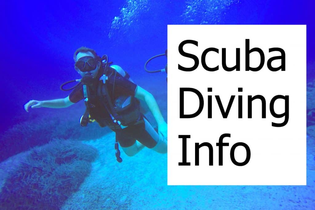 Info on Scuba Diving, Travel Tips, How to stay safe, etc.