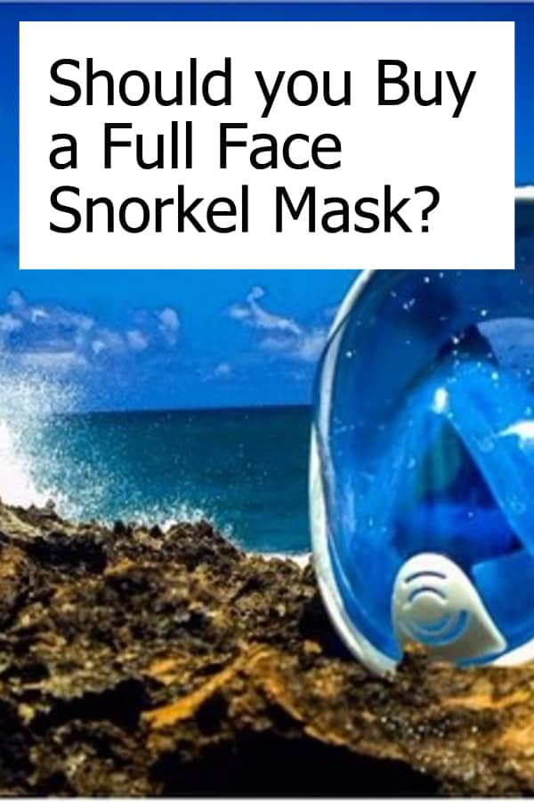 Should you Buy a Full Face Snorkel Mask - Pin