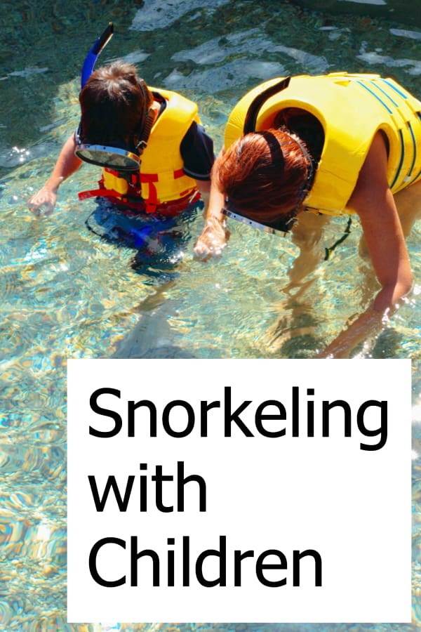 Taking your children snorkeling is a fun activity for the whole family!