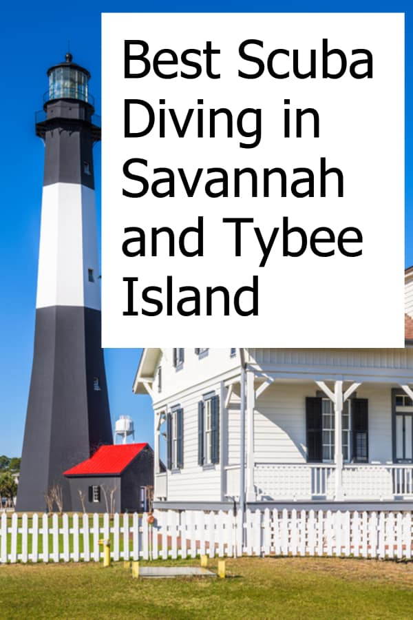 Finding great scuba diving and entertainment on Tybee Island and in Savannah