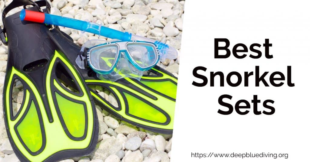 Finding the best snorkeling sets