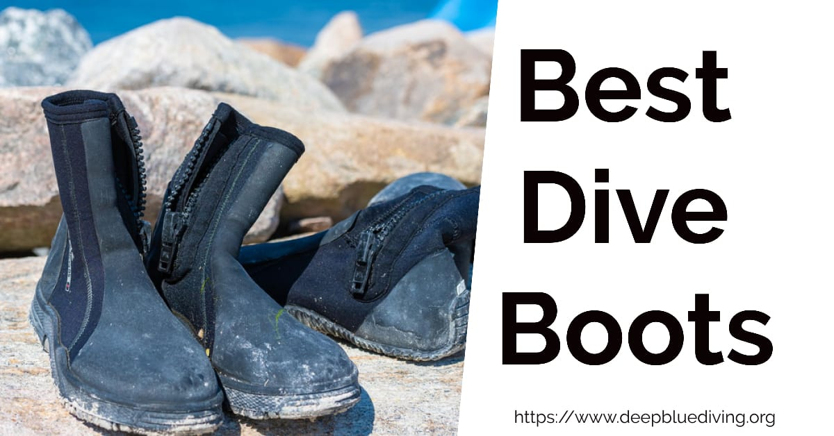 Finding the best dive boots for scuba diving