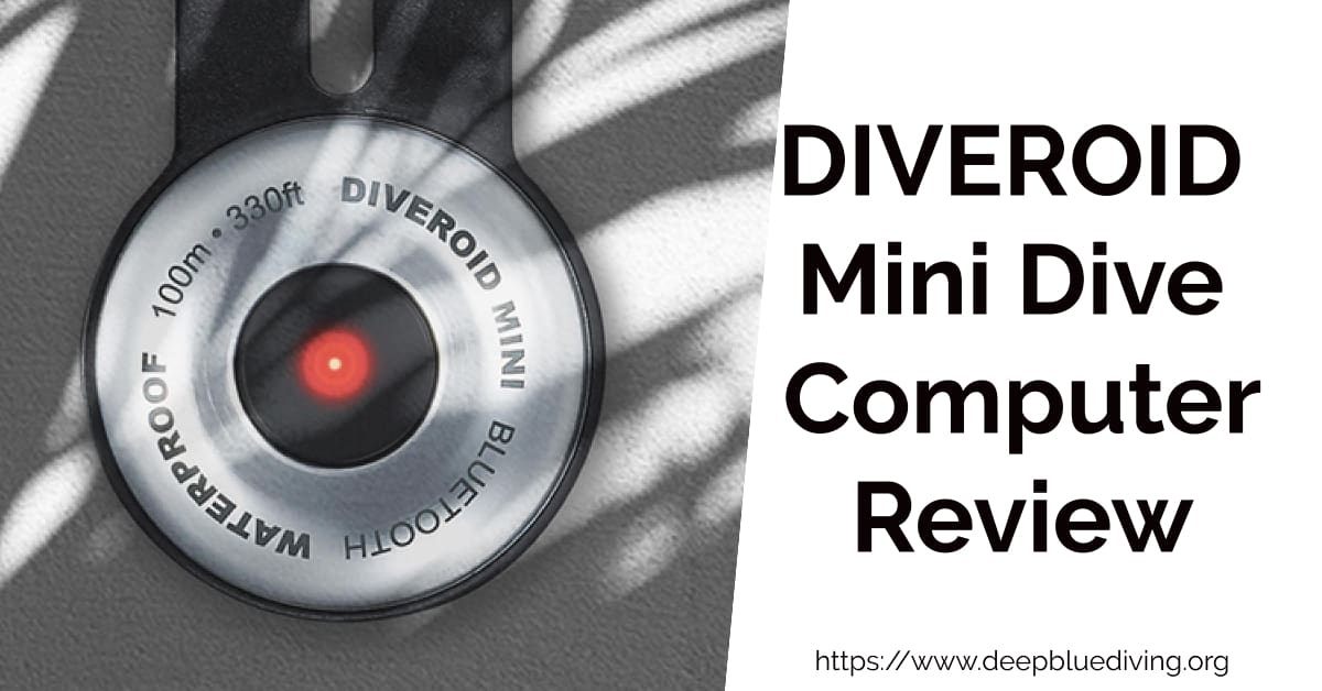 Review of the DIVEROID MINI Dive Computer