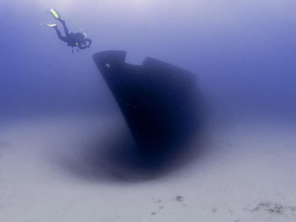 Wreck of Um El Faroud